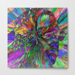 ASAP Rocky LSD Metal Print