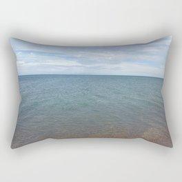 Lake Michigan Sky Rectangular Pillow