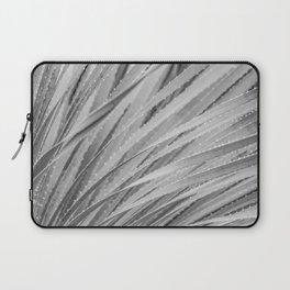 Agave Abstract Black & White by Murray Bolesta! Laptop Sleeve