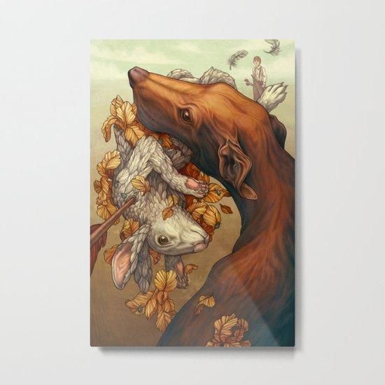 Lepus Metal Print