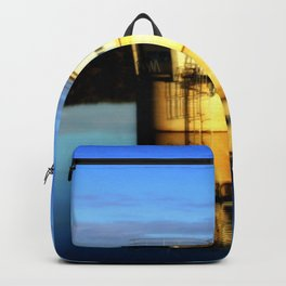 Reflections of a water Tower Backpack
