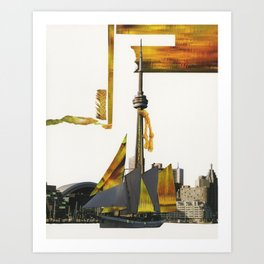 Toronto Waters Art Print