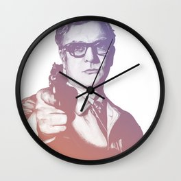 Michael Caine Wall Clock