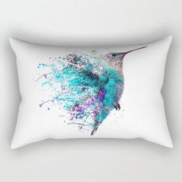 HUMMING BIRD SPLASH Rectangular Pillow