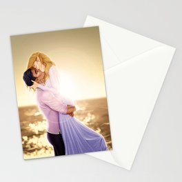 Feyre and Rhysand - A Romantic Sunset Stationery Cards