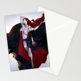 Red Mercury Stationery Cards