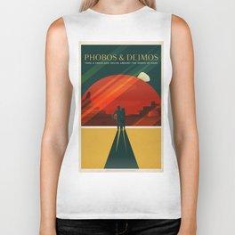 Vintage Adventure Travel Phobos and Deimos Biker Tank