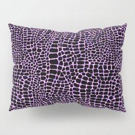 Neon crocodile/alligator skin Pillow Sham