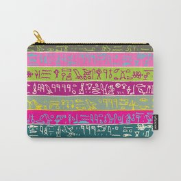 Egyptian hieroglyphs No2 Carry-All Pouch