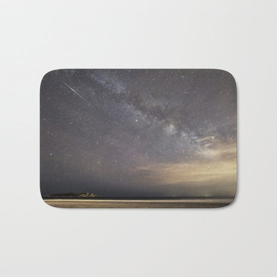Shooting stars and the Milkyway Bath Mat