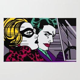 In the Jokermobile Rug