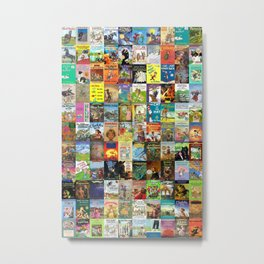 Children's Books Metal Print