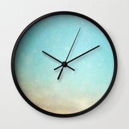 Underwater swim Wall Clock
