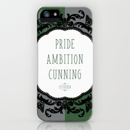 Slytherin Pride iPhone Case