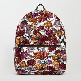 Summer Robin Floral Backpack