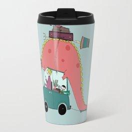 Dino on the move Travel Mug