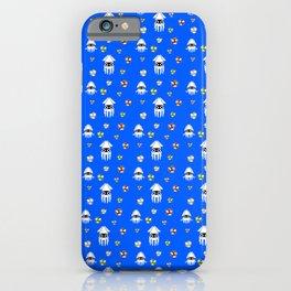 Water Level Sprites | Super Mario Pattern iPhone Case