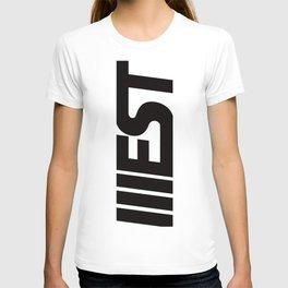 WEST CLASSIC BLACK T-shirt