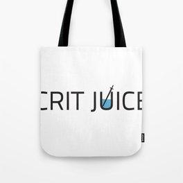CRIT JUICE: Classic Logo Tote Bag