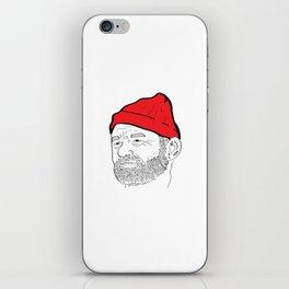 Captain Zissou iPhone Skin