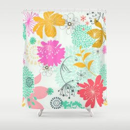 Floral vector pattern best idea Shower Curtain