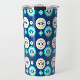 Mati Evil eye protection pattern Travel Mug