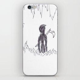 No More Running iPhone Skin