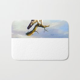African hawk Eagle Bath Mat