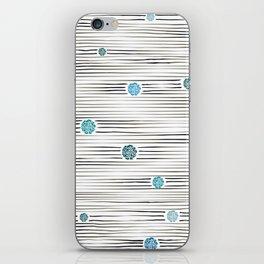modern lights iPhone Skin