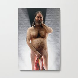 Robe & Light 2 Metal Print