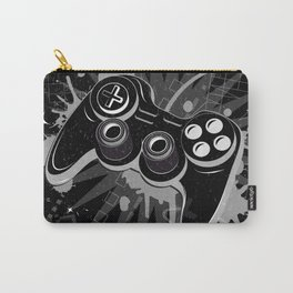 Gamepad Graffiti Grunge Carry-All Pouch