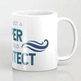 I'm not a vaper, I'm a cloud architect Coffee Mug