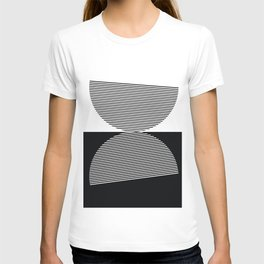 Abstract - Black and White T-shirt