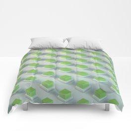 Energy Cubes Comforters