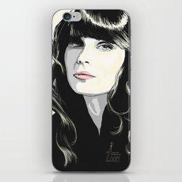 Zooey Deschanel iPhone Skin