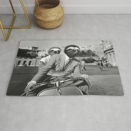 Sloth in Roman Holiday Rug