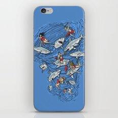 Malibu Beach Sharnado Massacre  iPhone & iPod Skin