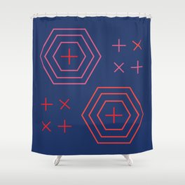 x + x + Shower Curtain