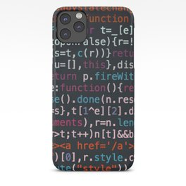 Computer Science Code iPhone Case
