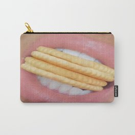 Soft full Pink lips  Carry-All Pouch
