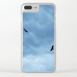 """""""Free as a Bird"""" Clear iPhone Case"""