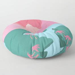 Girls' Oasis Floor Pillow