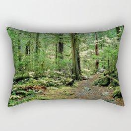Forest Garden Rectangular Pillow
