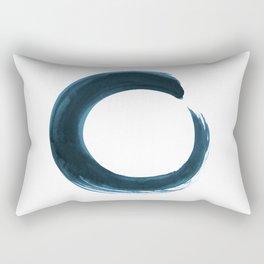 Enso Serenity No.6q by Kathy Morton Stanion Rectangular Pillow