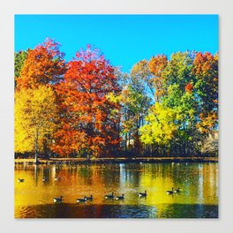 Vibrant Thing Canvas Print