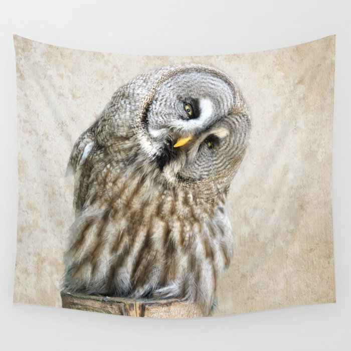 Who? Wall Tapestry