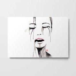 Silent Cry Metal Print