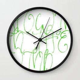 Blowin' In The Wind Wall Clock