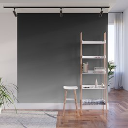 Ombre Grey Wall Mural