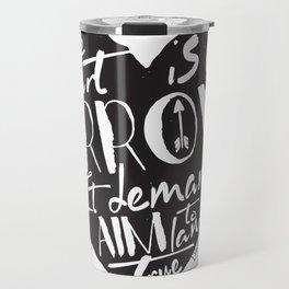 Heart is an Arrow - Six of Crows design Travel Mug